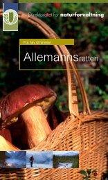 Allemannsretten - Drammen kommune