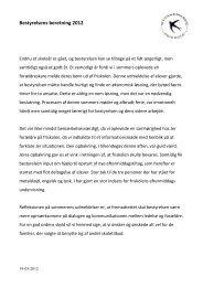 Beretning 2012 - Stokkemarke Friskole