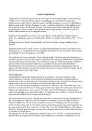 Jerslev Mergelselskab - Jerslev.net