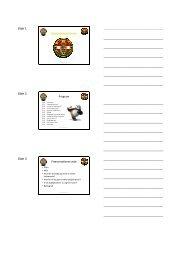 Handout - Dansk Taekwondo Forbund