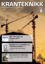 Kranteknikk 1-2007-32.indd - Kranteknisk Forening