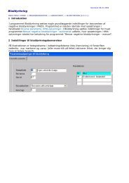 Bloddyrkning - mads online manual