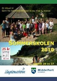 SOMMERSKOLEN - Middelfart Ungdomsskole