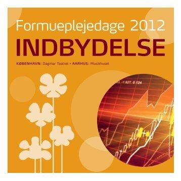 Formueplejedage 2012
