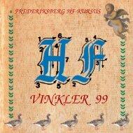 VINKLER 99 - Frederiksberg HF Kursus