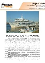 KRYDSTOGT KIEV – ISTANBUL - Penguin Travel