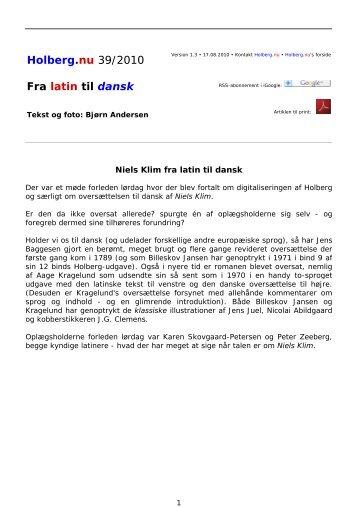 dansk latin oversætter