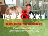 Beretning fra kontoret v/ chefkonsulent Palle Høj - Heden & Fjorden