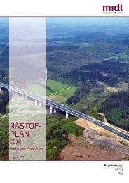 Råstofplan 2012.pdf - Region Midtjylland