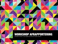 WORKSHOP AFRAPPORTERING - Etrans