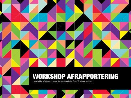 WORKSHOP AFRAPPORTERING - Etrans