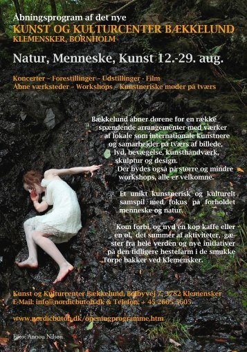 Fuldt program på dansk (pdf) - Nordic School of Butoh