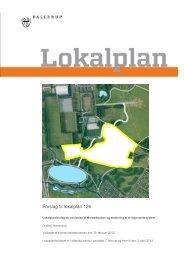 Forslag til lokalplan 126