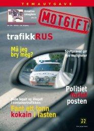 trafikkRUS - Norsk Narkotikapolitiforening