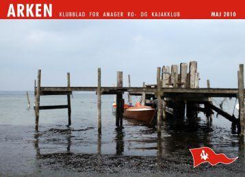 ARKEN KLUBBLAD FOR AMAGER RO- OG KAJAKKLUB MAJ 2010