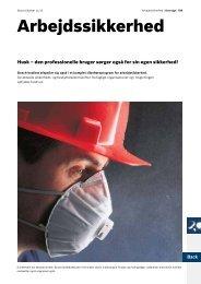 Arbejdssikkerhed - Bosch el-værktøj