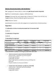 Referat af bestyrelsesmødet den 25. februar 2010 - LAG Sønderborg