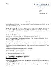 Høringssvar - Miljøstyrelsen