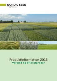 Vårsæd - Hedegaard Agro