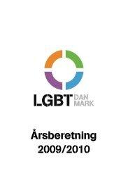 Årsberetning 2009/2010 - Landsforeningen for bøsser og lesbiske