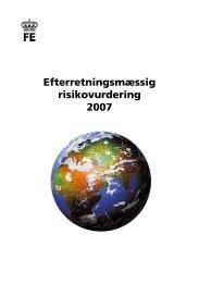 Hent Efterretningsmæssig Risikovurdering 2007 - Forsvarets ...