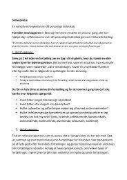 Skriveøvelse En narrativ skriveøvelse om dit personlige lederskab ...