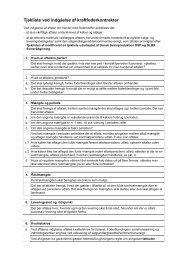 Tjekliste ved indgåelse af kraftfoderkontrakter - LandbrugsInfo