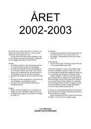 Årsberetning 2002-2003 - Dansk Skovforening