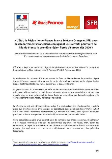2013 04 05 Declaration Commune Des 4 Parties Vf2 Prefecture De