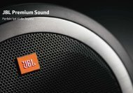 JBL Premium Sound - Via Biler