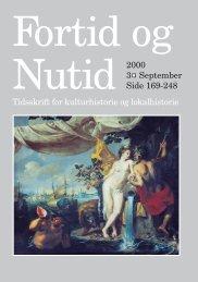 Nr. 3/2000 - Kulturstudier