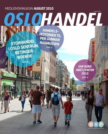 storhandel i oslo sentrum betinger boende - OHF