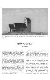 RØRVIG KIRKE - Danmarks Kirker - Nationalmuseet