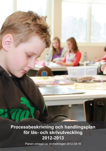 Processbeskrivning och handlingsplan för läs- och ... - Hagfors