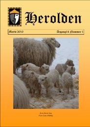 Marts 2010 Årgang14 Nummer 1 - Herolden