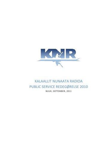 KNR Public Service redegørelse 2010.pdf