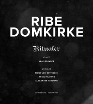 ribe domkirke Ritualer — 1 KUNST LEA PORSAGER ... - Kopenhagen