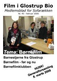 Tema Børnefilm. Benedikte Mouritzen - Glostrup Bio