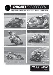 Nr. 58 - 2002 - Ducati Klub Danmark