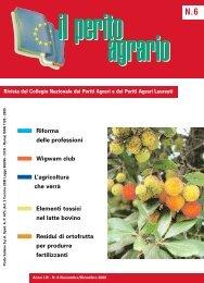 Il Perito Agrario 06-2006 - Collegio Nazionale dei Periti Agrari » e ...