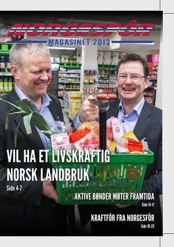 aktiVe bønder møter framtida kraftfôr fra norgesfôr