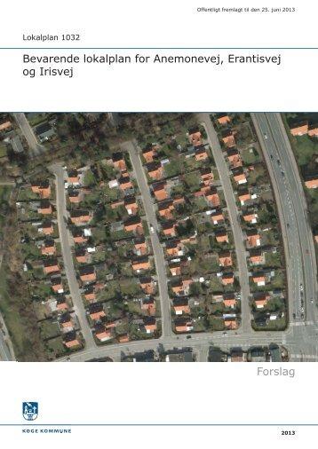 Lokalplan 1032 - Køge Kommune