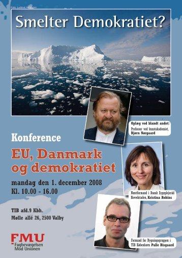 Smelter Demokratiet? - Folkebevægelsen mod EU