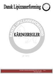 Ved at klikke her, kan du læse Dansk Lipizzanerforenings ...