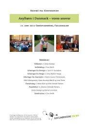 vores ansvar - Komiteen Flygtninge Under Jorden