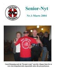 Nr.1 Marts. - Senior MC Danmark