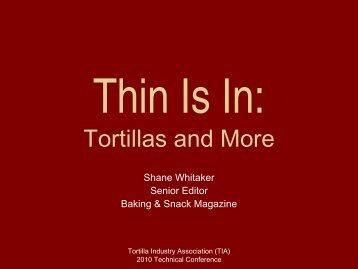 Presentation - Tortilla Industry Association