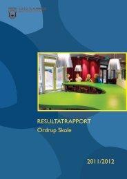 RESULTATRAPPORT Ordrup Skole