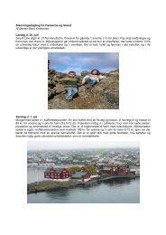 Færøerne og Island 2007 af rejsekonsulent Merete Bach Kristensen