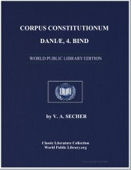 CORPUS CONSTITUTIONUM DANIÆ, 4. BIND - World eBook Library